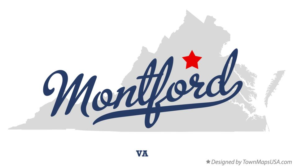 Map of Montford Virginia VA