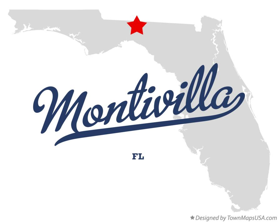 Map of Montivilla Florida FL