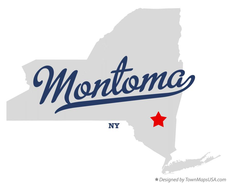Map of Montoma New York NY