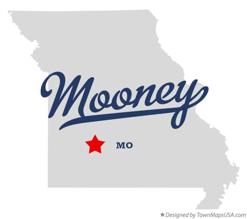 Map of Mooney Missouri MO