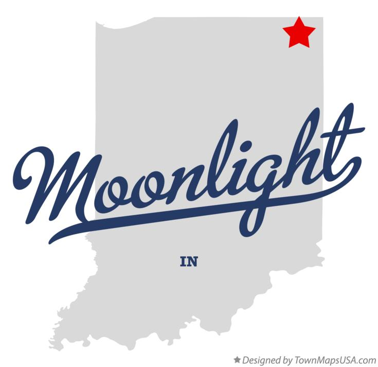 Map of Moonlight Indiana IN