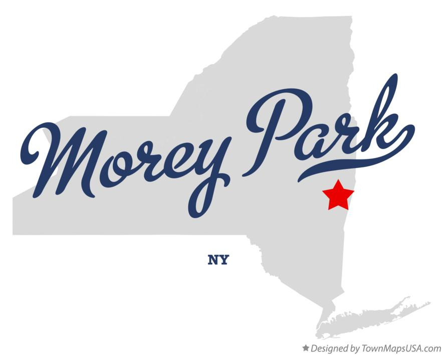 Map of Morey Park New York NY