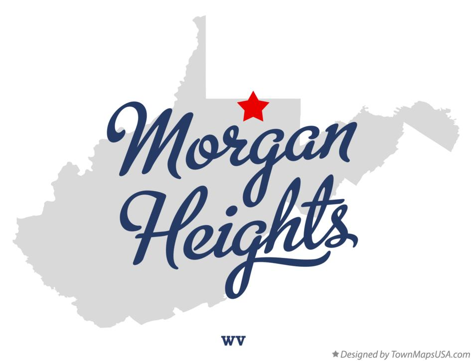 Map of Morgan Heights West Virginia WV