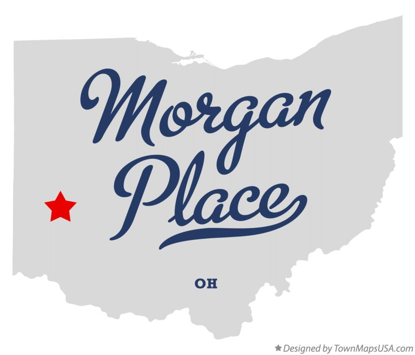Map of Morgan Place Ohio OH