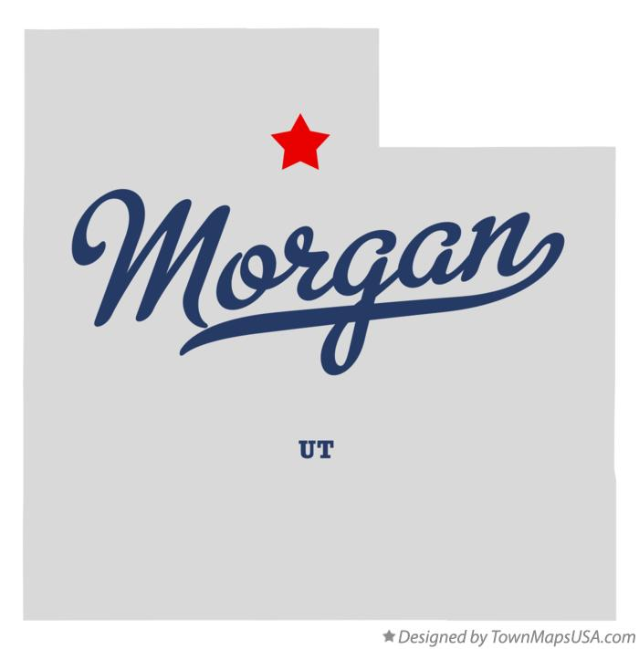 Map of Morgan Utah UT