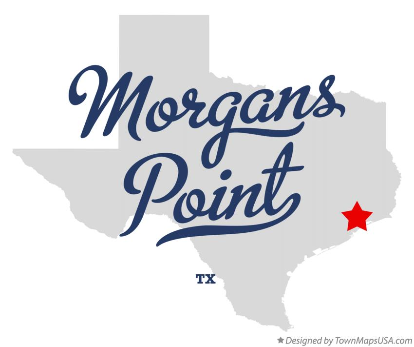 Map of Morgans Point Texas TX