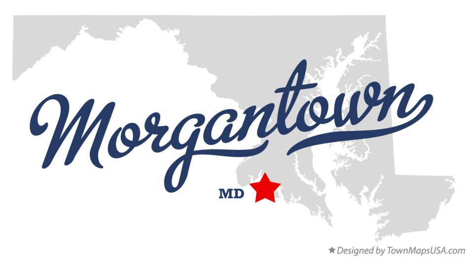 Map of Morgantown Maryland MD