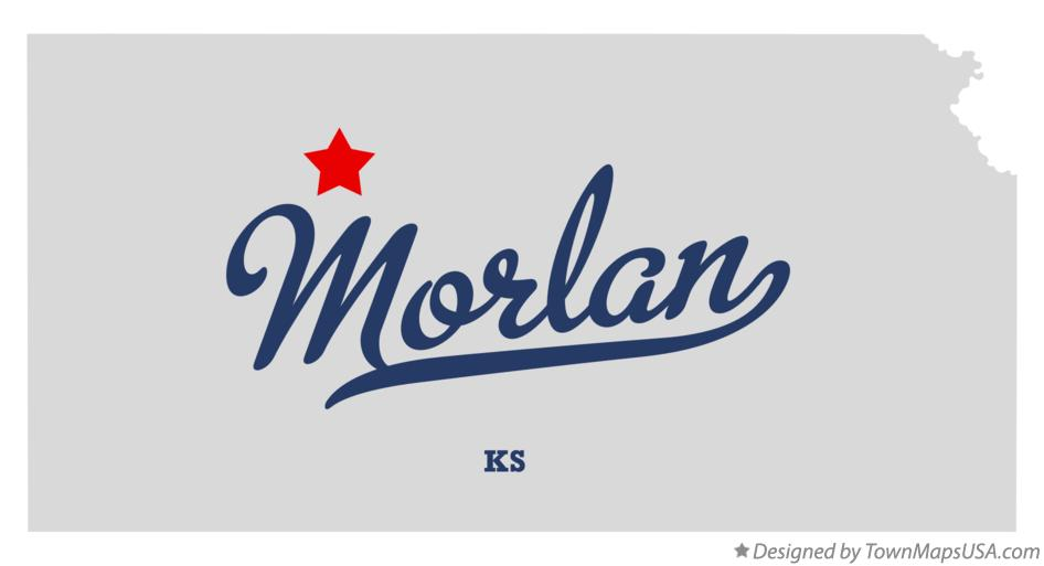Map of Morlan Kansas KS