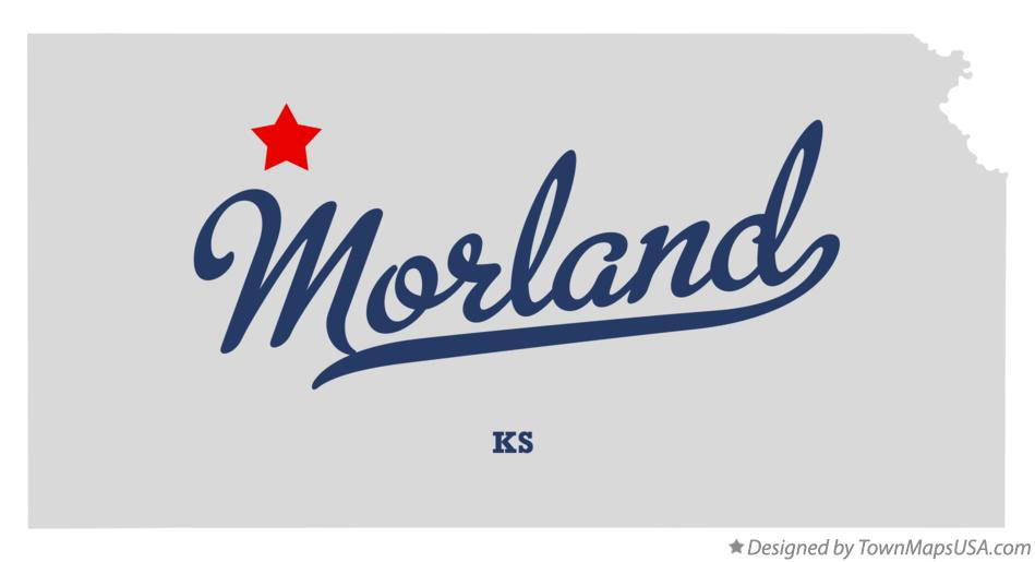 Map of Morland Kansas KS