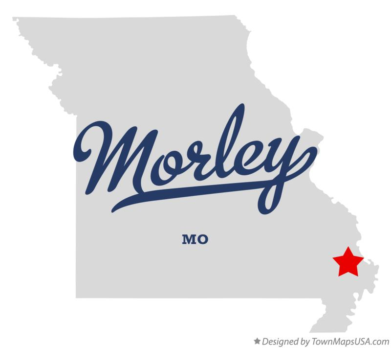 Map of Morley Missouri MO
