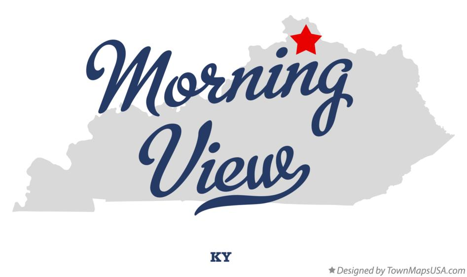 Map of Morning View Kentucky KY
