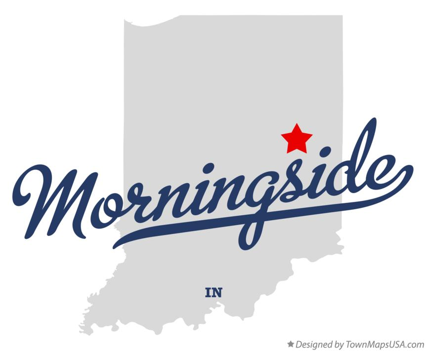 Map of Morningside Indiana IN