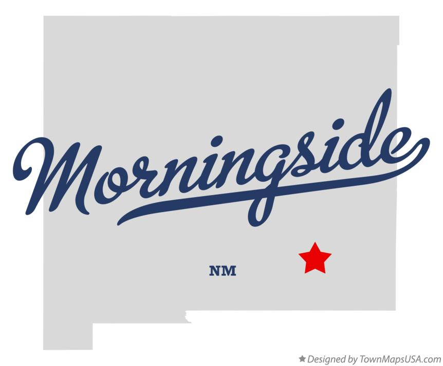 Map of Morningside New Mexico NM