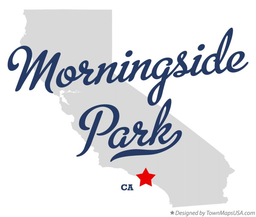 Map of Morningside Park California CA