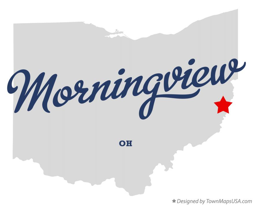 Map of Morningview Ohio OH