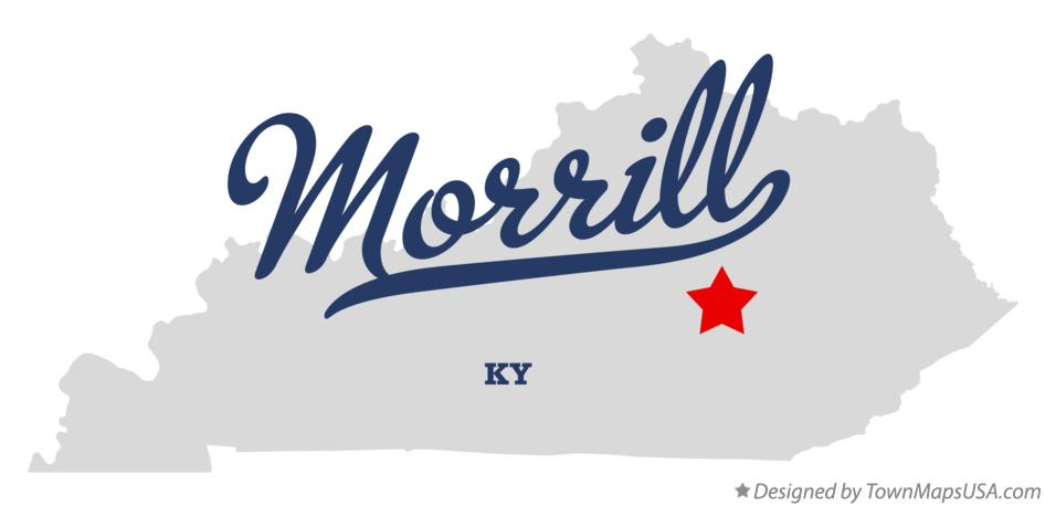 Map of Morrill Kentucky KY
