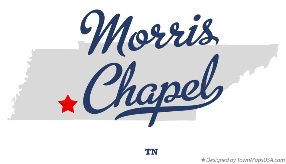 Map of Morris Chapel Tennessee TN