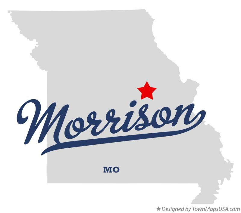 Map of Morrison Missouri MO