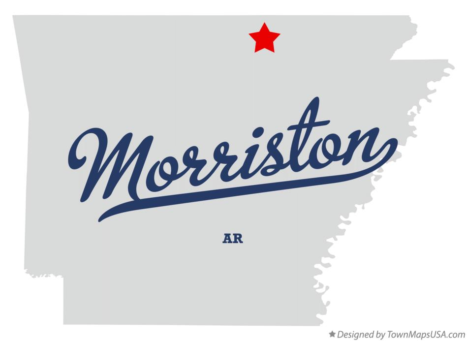 Map of Morriston Arkansas AR