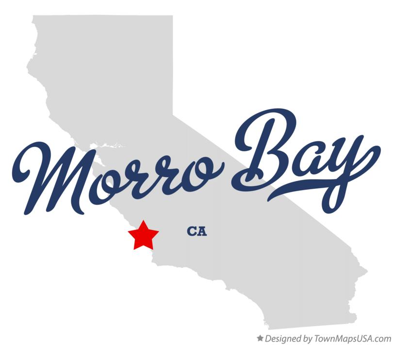 Map of Morro Bay California CA