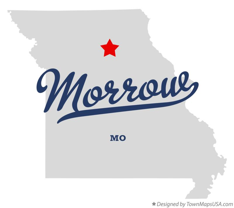 Map of Morrow Missouri MO