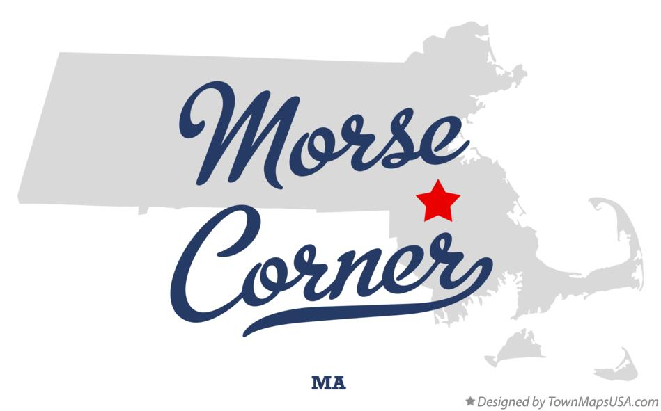 Map of Morse Corner Massachusetts MA
