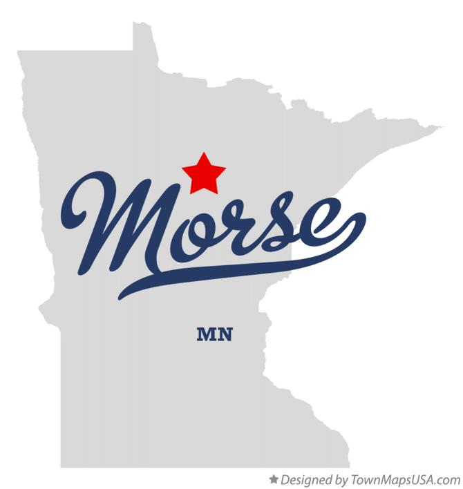 Map of Morse Minnesota MN