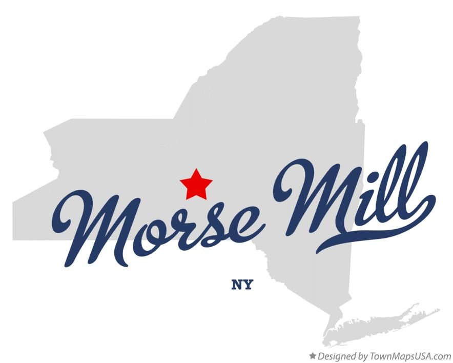 Map of Morse Mill New York NY