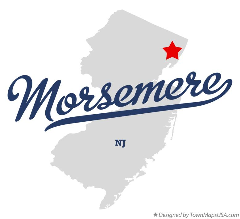 Map of Morsemere New Jersey NJ
