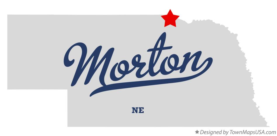 Map of Morton Nebraska NE
