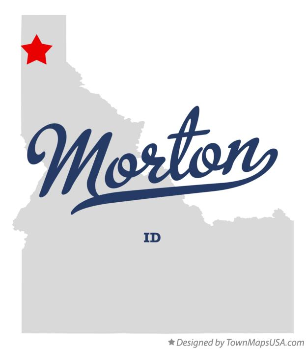 Map of Morton Idaho ID