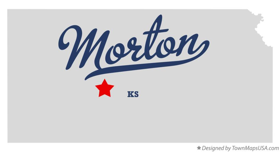 Map of Morton Kansas KS