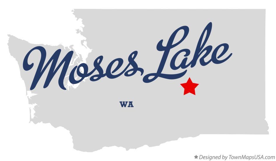 soap lake wa map Map Of Moses Lake Wa Washington soap lake wa map