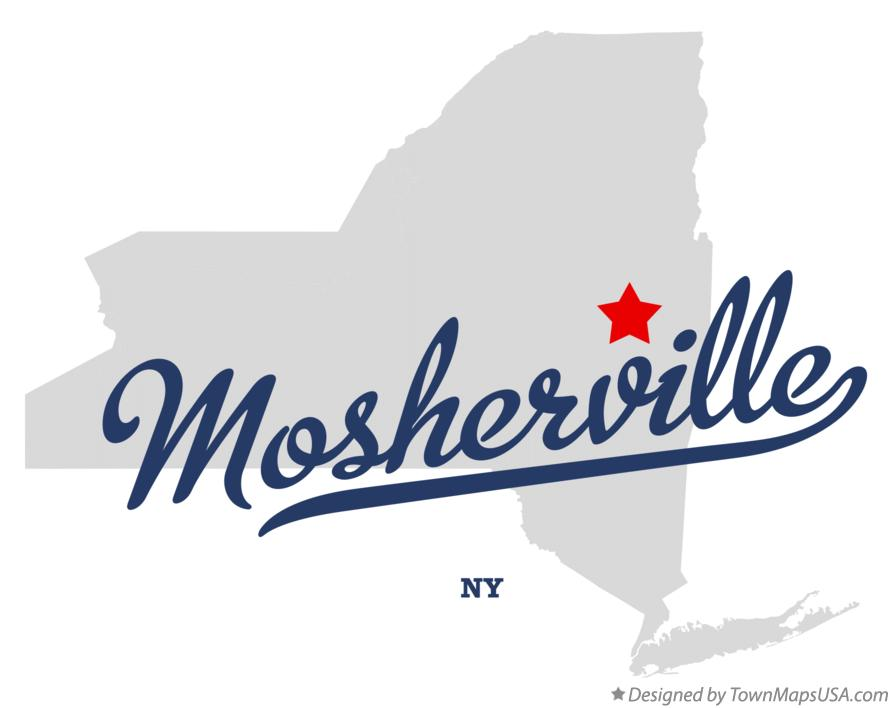Map of Mosherville New York NY