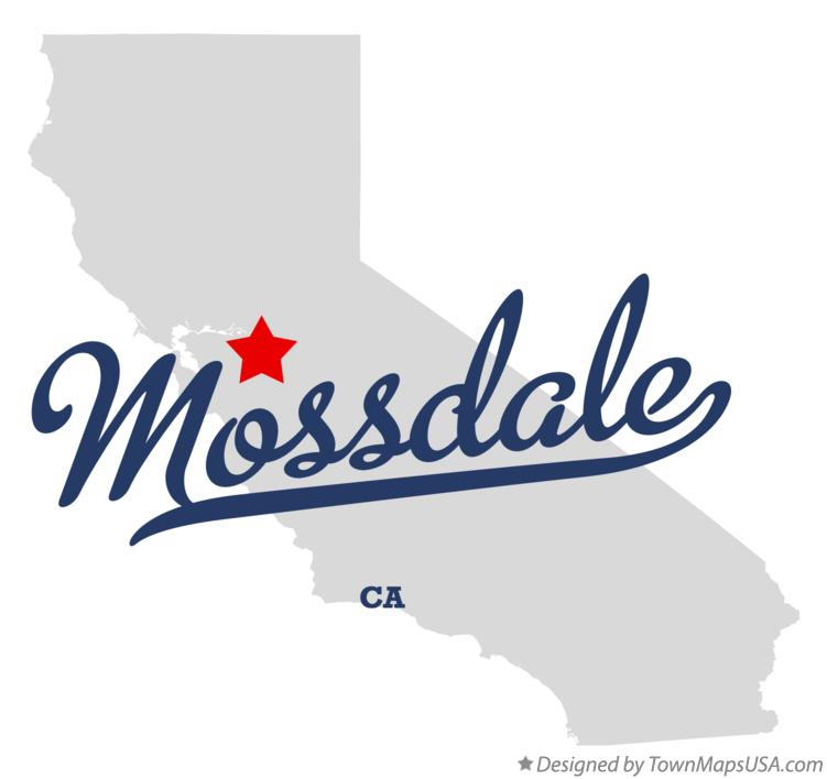 Map of Mossdale California CA