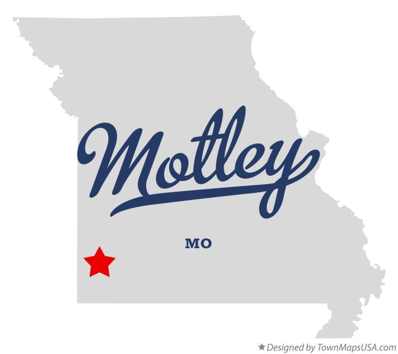 Map of Motley Missouri MO