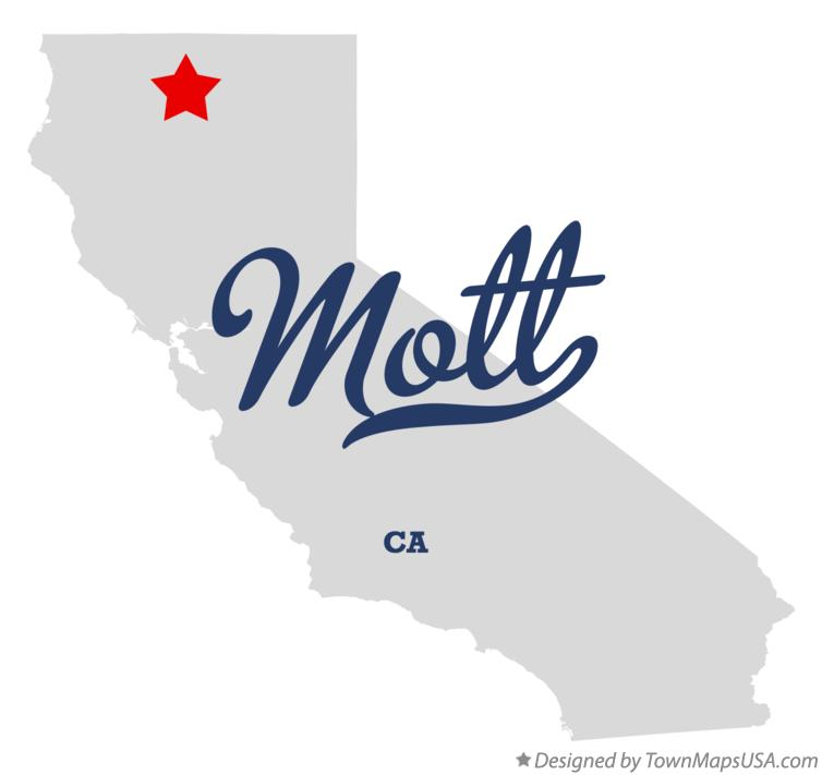 Map of Mott California CA
