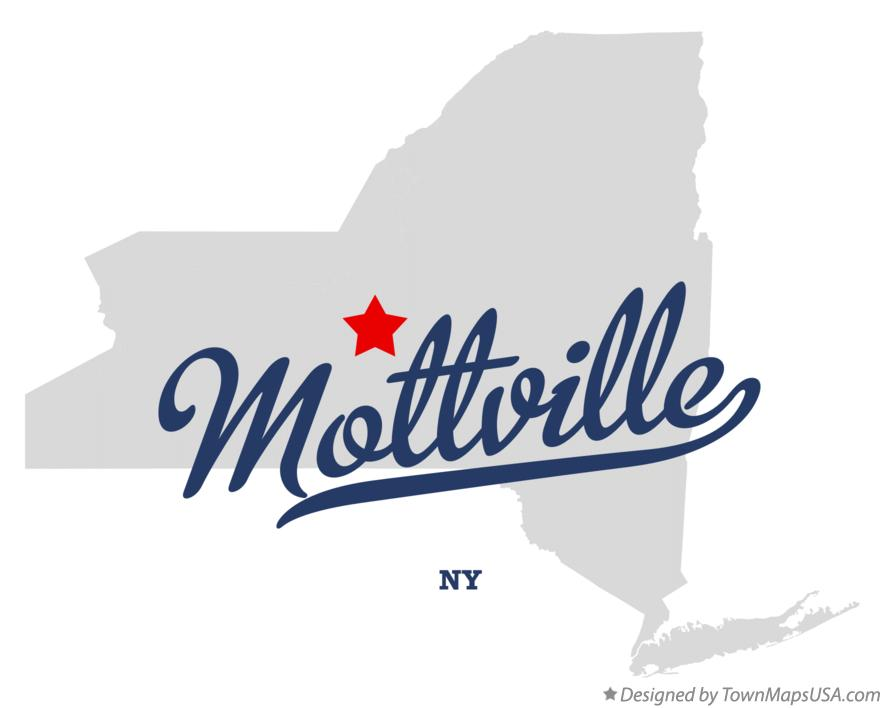 Map of Mottville New York NY