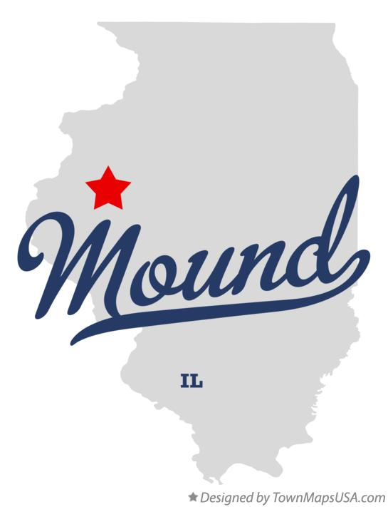 Map of Mound Illinois IL