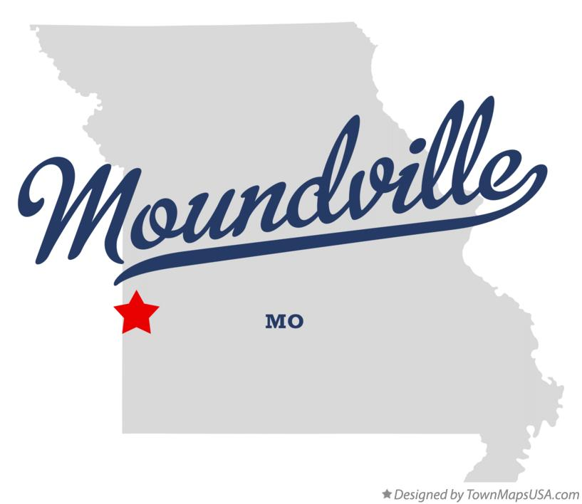Map of Moundville Missouri MO