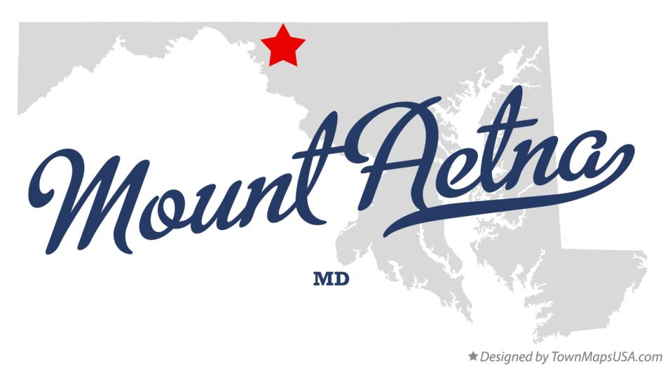 Map of Mount Aetna Maryland MD
