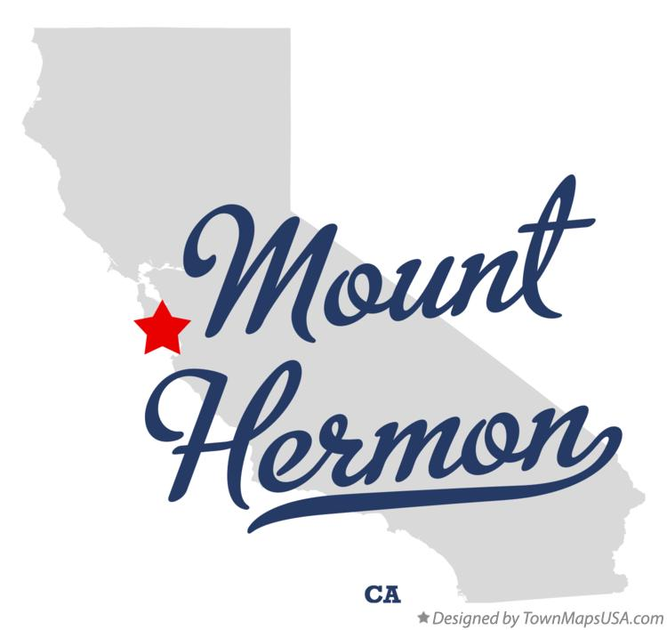 Map of Mount Hermon California CA
