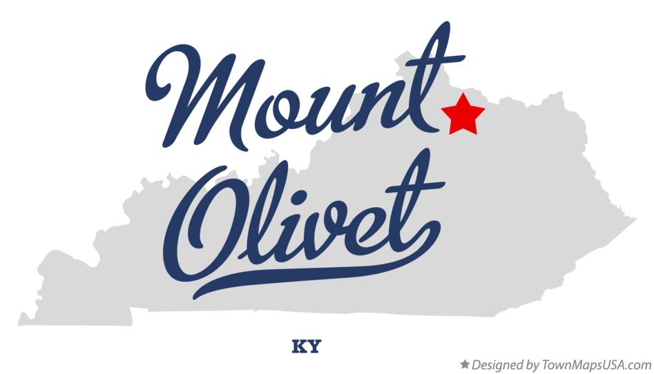 Map of Mount Olivet Kentucky KY