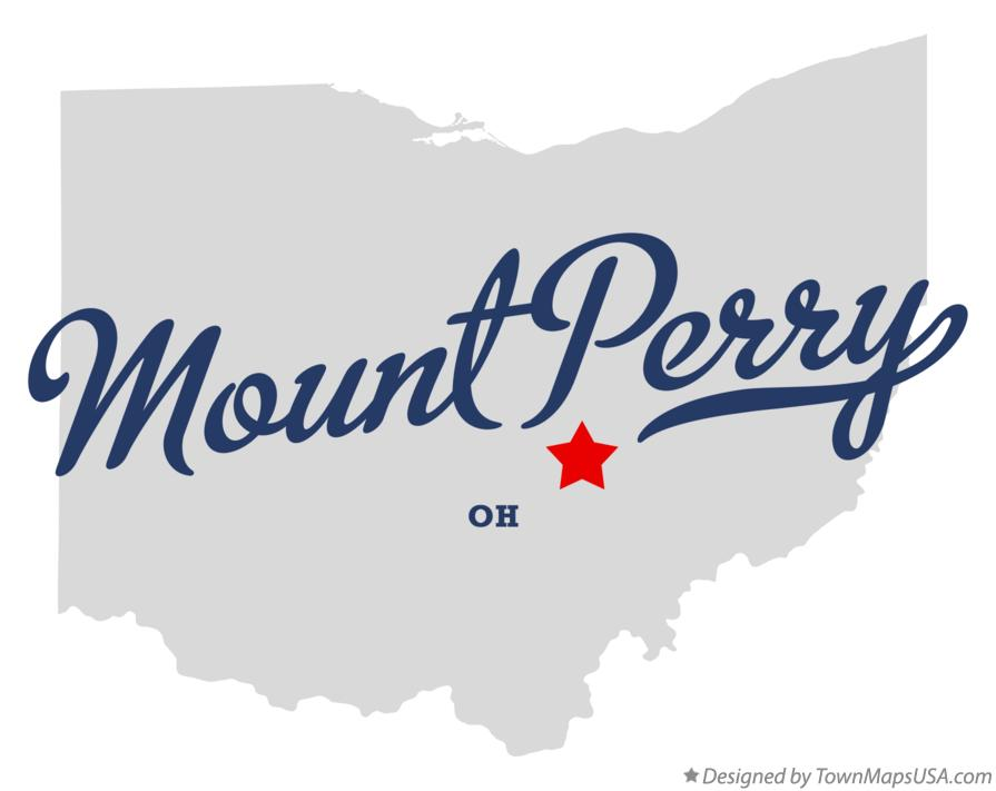Map of Mount Perry Ohio OH