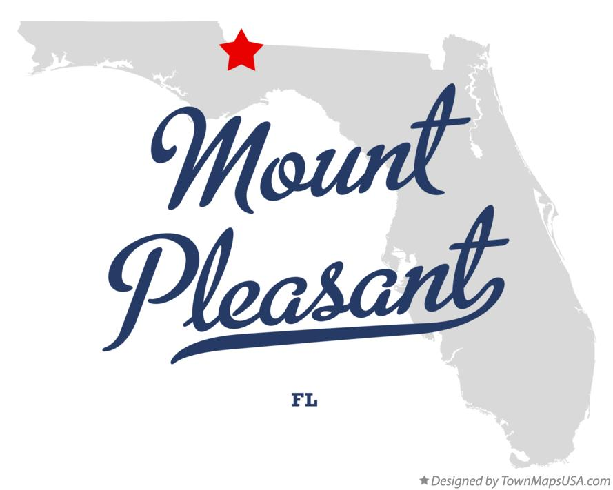 Map of Mount Pleasant Florida FL