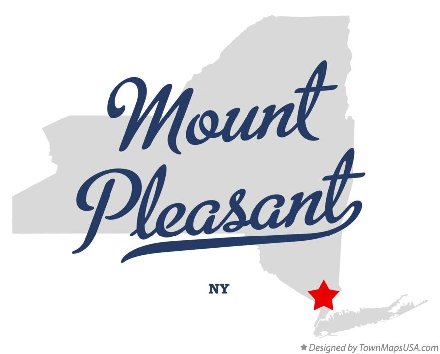 Map of Mount Pleasant New York NY