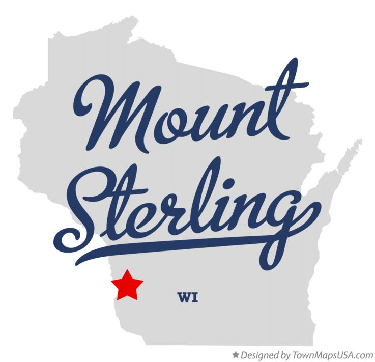Map of Mount Sterling Wisconsin WI