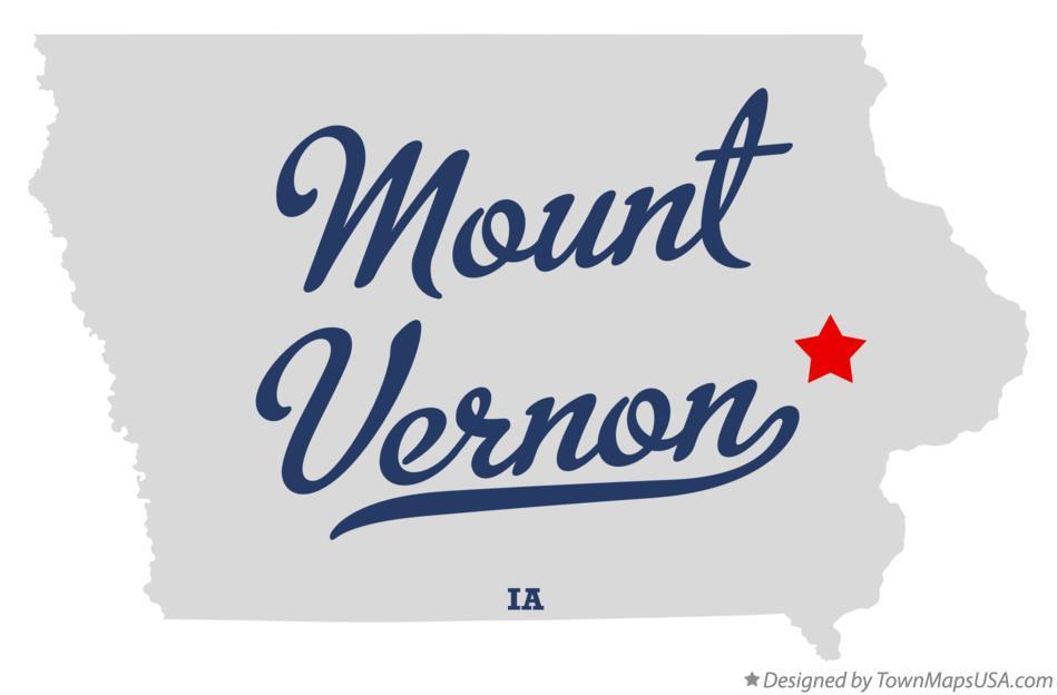mount vernon iowa map Map Of Mount Vernon Linn County Ia Iowa mount vernon iowa map