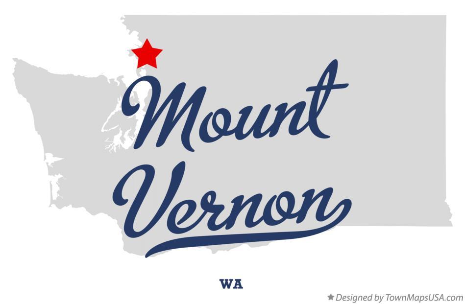 Mt Vernon Washington Map.Map Of Mount Vernon Wa Washington