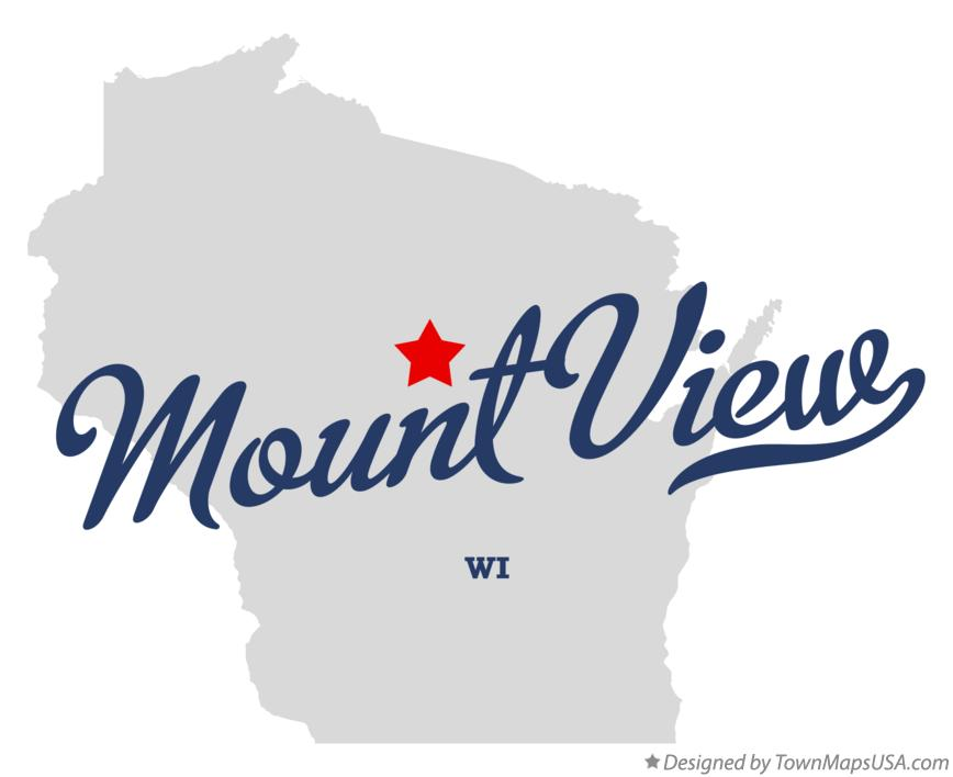 Map of Mount View Wisconsin WI